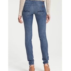 2/$45 7 For All Mankind Roxanne Skinny Jeans